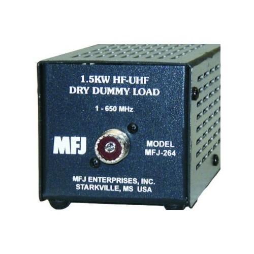 MFJ-264 CARICO FITTIZIO 1.5 KW, 0-650 MHZ A SECCO