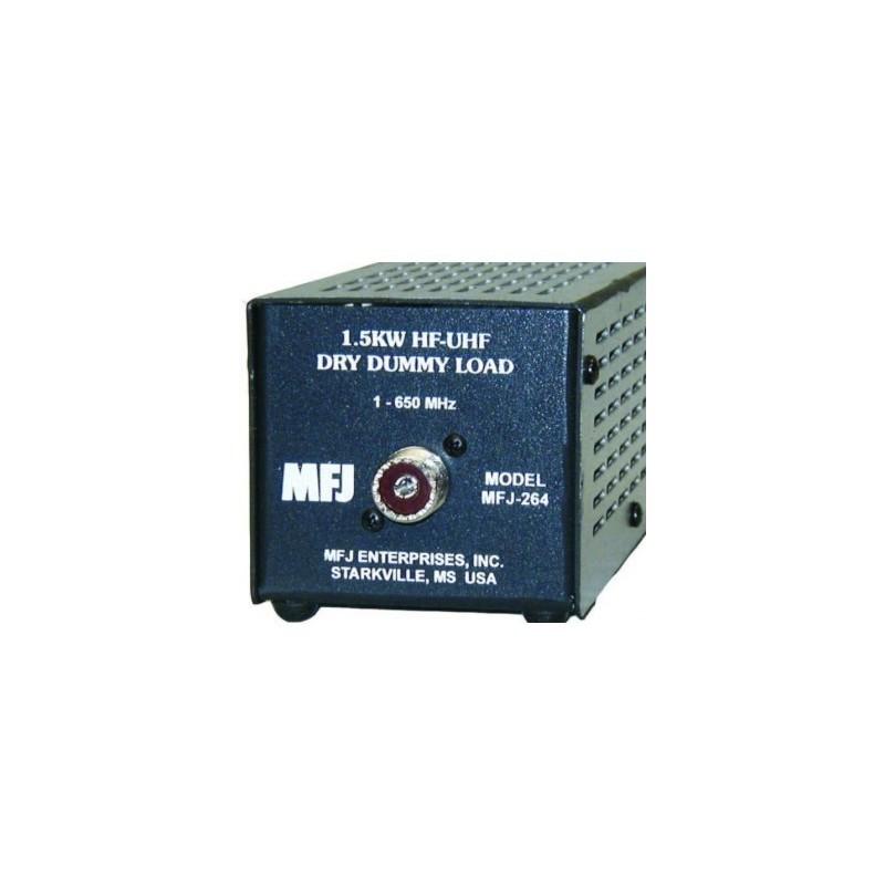 MFJ-264 CARICO FITTIZIO 1.5 KW, 0-650 MHZ A SECCO CARICHI FITTIZI