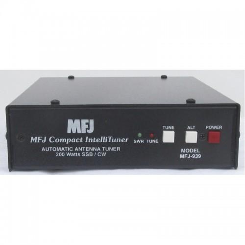 MFJ-939Y ACCORDATORE AUTOMATICO PLUG AND PLAY 200 Watt HF,W CON CAVO YAESU AUTOMATICI