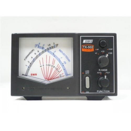 NISSEI TX-502 ROSMETRO/WATTMETRO 1,6-525MHZ