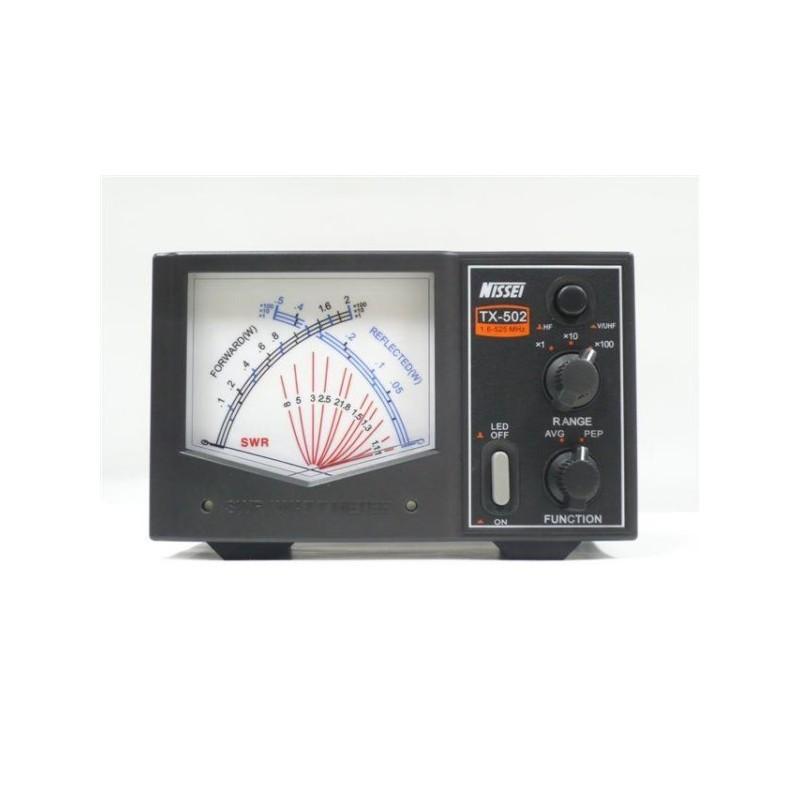 NISSEI TX-502 ROSMETRO/WATTMETRO 1,6-525MHZ ROSMETRI/WATTMETRI