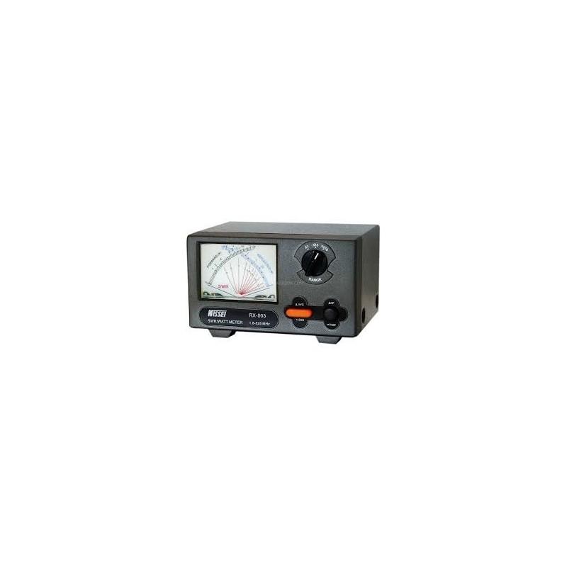 NISSEI RX-503 ROSMETRO/WATTMETRO 1,8-525MHZ