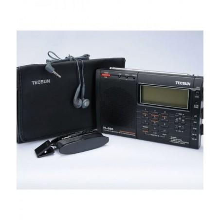TECSUN PL-660 RICEVITORE PORTATILE 1.7-30MHZ+ VHF AIR BAND PORTATILI