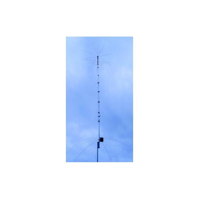 HY GAIN AV-680 ANTENNA VERTICALE 9 BANDE 80/40/30/20/17/15/12/10/6 METRI