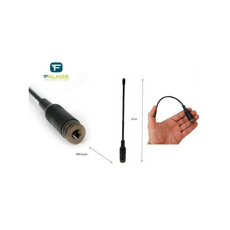 FALKOS SRH-701M ANTENNA PER PORTATILI VHF/UHF PER PORTATILI