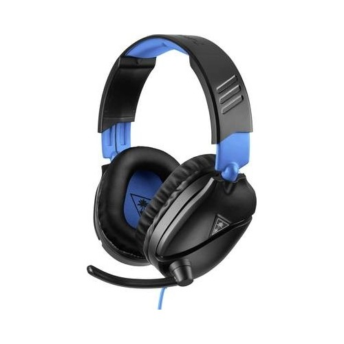 Turtle Beach Ear Force Recon 70P Cuffia Headset per Gaming Jack 3,5 mm Filo Cuffia Over Ear Nero, Blu DI TUTTO UN PO'