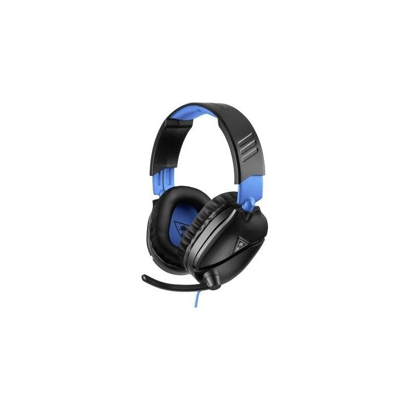 Turtle Beach Ear Force Recon 70P Cuffia Headset per Gaming Jack 3,5 mm Filo Cuffia Over Ear Nero, Blu DI TUTTO UN PO'