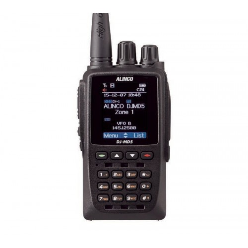 ALINCO DJ-MD5 RICETRASMETTITORE PORTATILE VHF/UHF PORTATILI