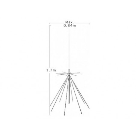 DIAMOND D-130 ANTENNA DISCONE 25-1300MHZ