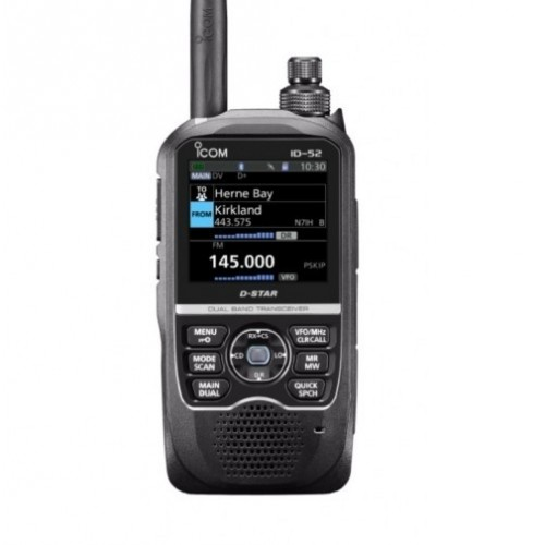 ICOM ID-52E RICETRASMETTITORE PORTATILE D-STAR VHF/UHF PORTATILI