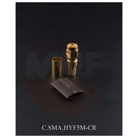 MESSI & PAOLONI C.SMA.HYF5M-CR SMA MASCHIO A CRIMPARE 5 mm