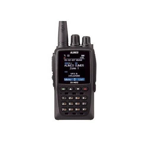 ALINCO DJ-MD5E-GP RICETRASMETTITORE ANALOGICO/DMR GPS PORTATILI