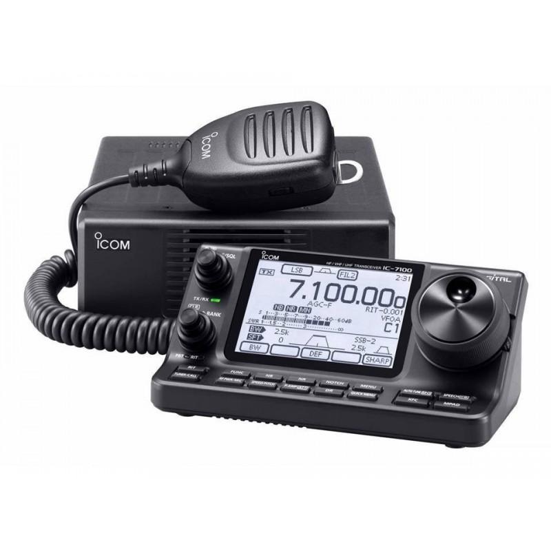ICOM IC-7100 RICETRASMETTITORE HF/VHF/UHF ALL MODE BASE