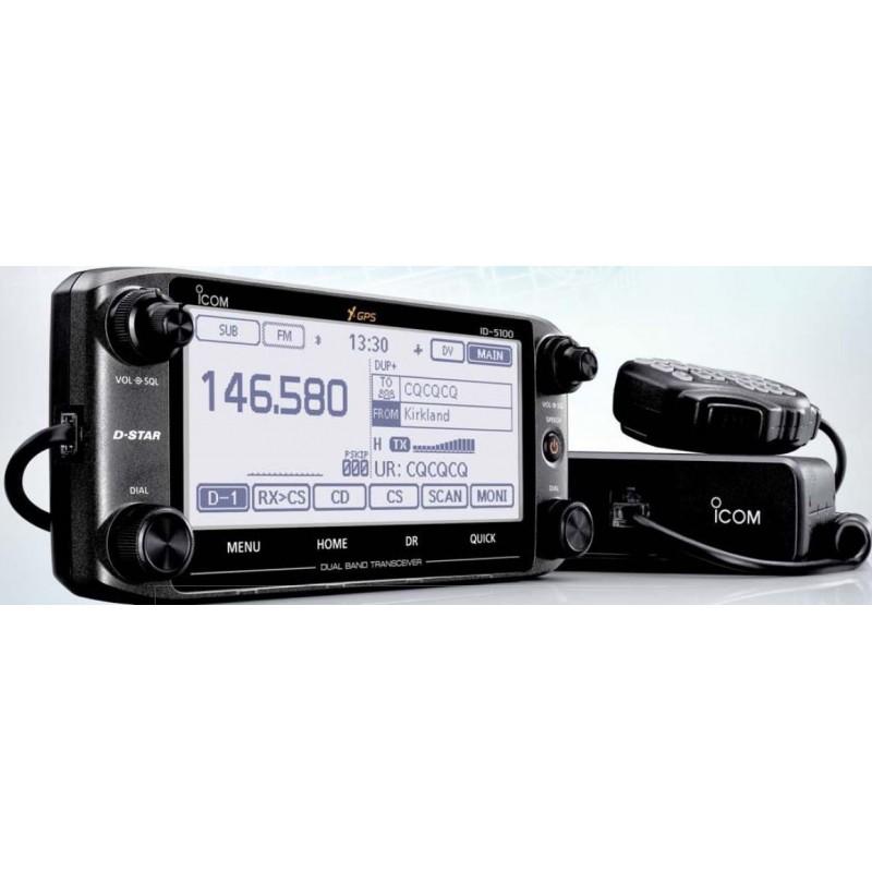 ICOM ID-5100E RICETRASMETTITORE ANALOGICO/DIGITALE VEICOLARE DUAL BAND VHF/UHF VEICOLARI