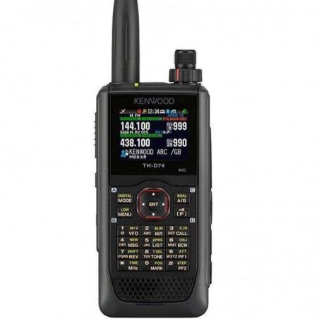 KENWOOD TH-D74E Portatile Dual Band VHF / UHF con GPS e DSTAR PORTATILI