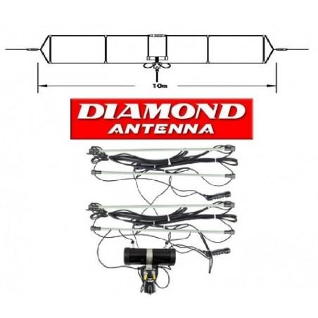 DIAMOND WD-330S DIPOLO DA 2 A 28.6MHZ CON 30MT DI CAVO FILARI
