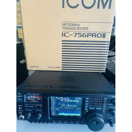 ICOM IC-756PROII RICETRASMETTITORE HF/50MHZ USATO GARANTITO USATO GARANTITO