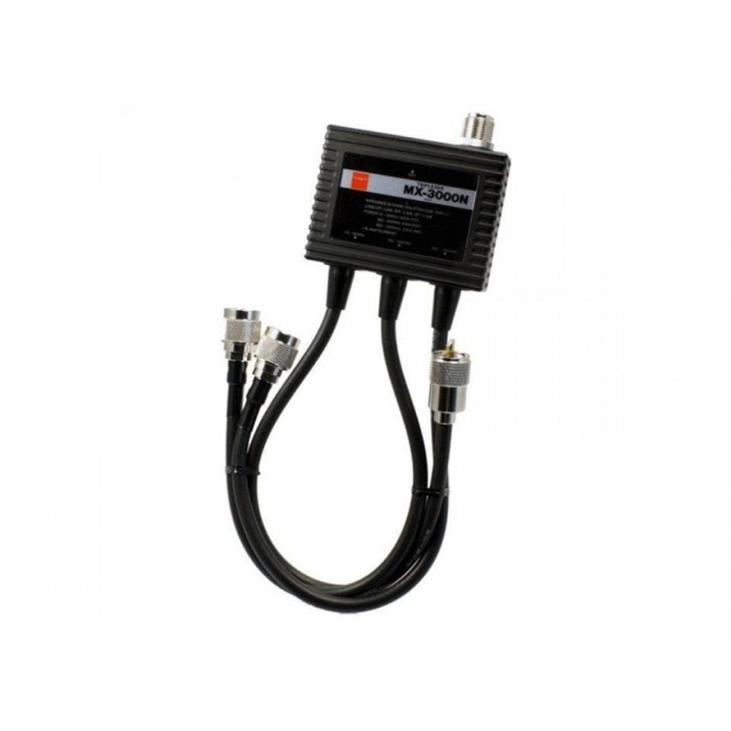 DIAMOND MX-3000N TRIPLEXER HF-VHF/UHF/SHF DUPLEXER E TRIPLEXER