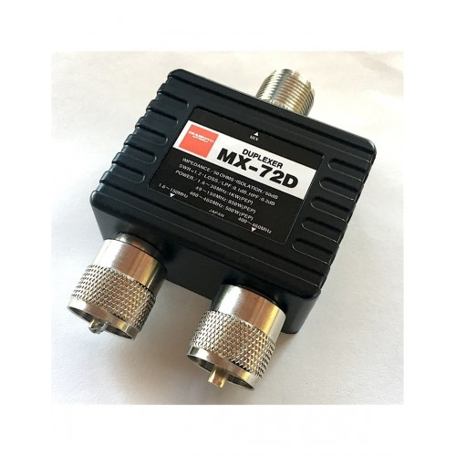 DIAMOND MX-72D DUPLEXER  DUPLEXER E TRIPLEXER
