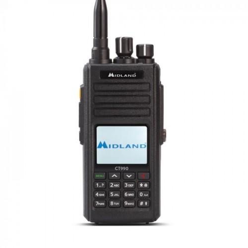 MIDLAND CT-990 RICETRASMETTITORE PORTATILE VHF/UHF PORTATILI