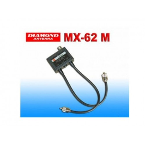 DIAMOND MX-62M DUPLEXER HF/VHF-UHF DUPLEXER E TRIPLEXER
