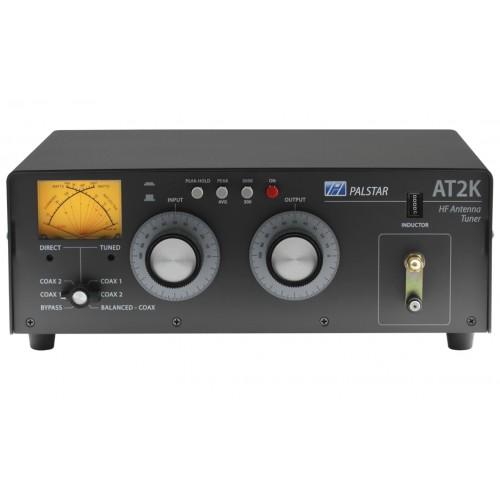 PALSTAR AT-2K ACCORDATORE D'ANTENNA MANUALE 1,8-54 MHz 2000 W MANUALI
