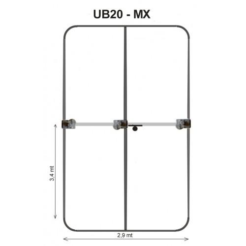 ULTRABEAM ANTENNA UB20-MX - 3 EL YAGI PICCOLO 6-20 metri HF DIRETTIVE