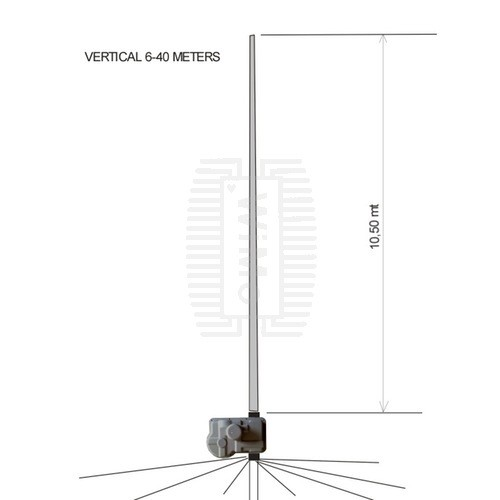 ULTRABEAM UB-V40 ANTENNA VERTICALE 6-40 m HF VERTICALI