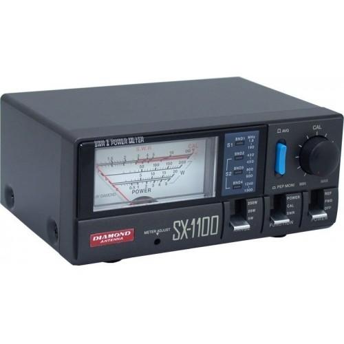 DIAMOND SX-1100 ROSMETRO/WATTMETRO 1.8-160 - 430-1300 MHz 200W