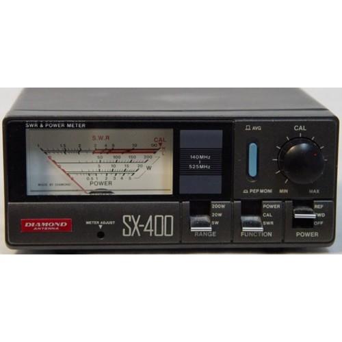 DIAMOND SX-400 ROSMETRO/WATTMETRO 140-525 MHZ 200W