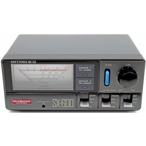 DIAMOND SX-600N ROSMETRO/WATTMETRO 1.8-525 MHz - 5/20/200 Watt