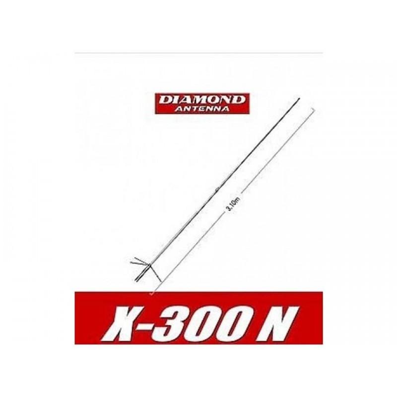 DIAMOND X-300N ANTENNA BIBANDA DA BASE 144-430 MHZ