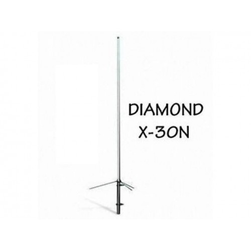 DIAMOND X-30N ANTENNA BIBANDA DA BASE 144-430 MHZ