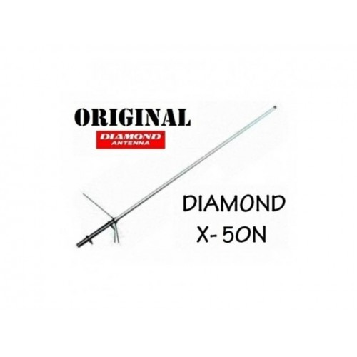 DIAMOND X-50N ANTENNA BIBANDA DA BASE 144-430 MHZ