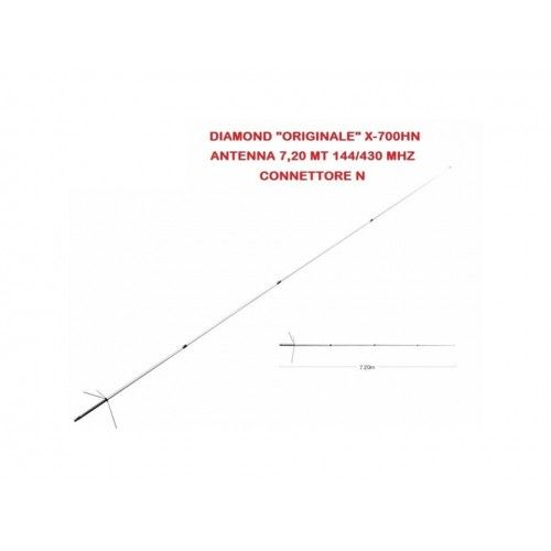 DIAMOND X-700HN ANTENNA BIBANDA DA BASE 144-430 MHZ
