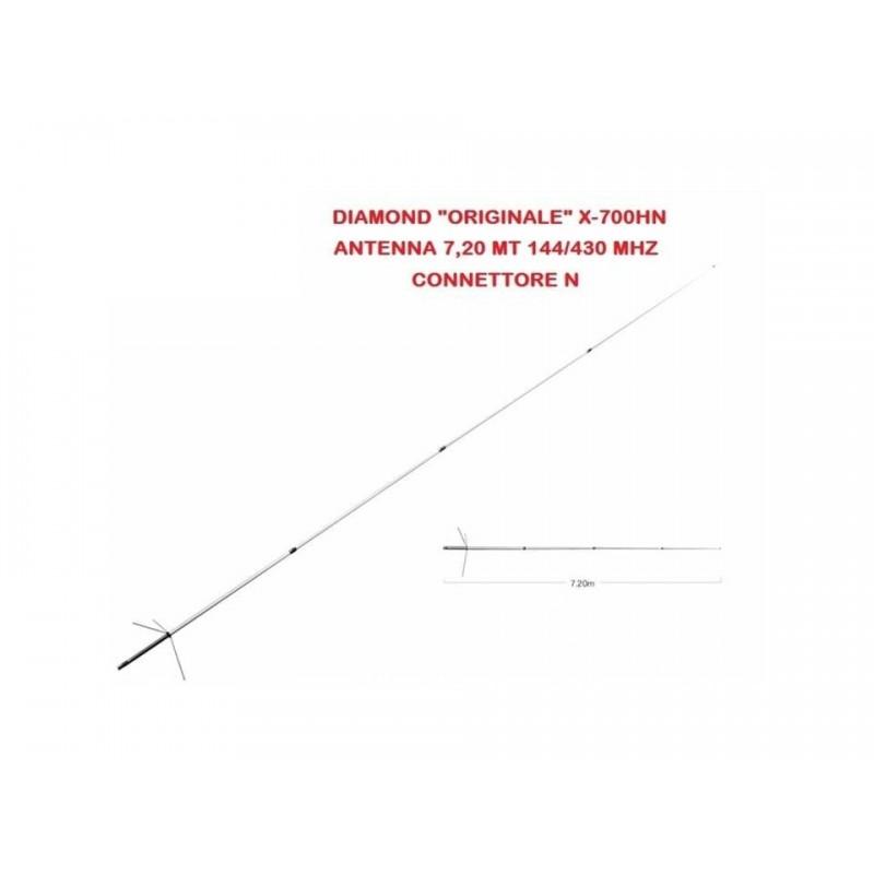 DIAMOND X-700HN ANTENNA BIBANDA DA BASE 144-430 MHZ