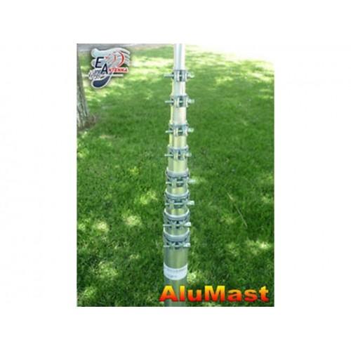 EANTENNA ALUMAST EA10@1,5M MAST TELESCOPICO IN ALLUMINIO PALI E STAFFE DI FISSAGGIO