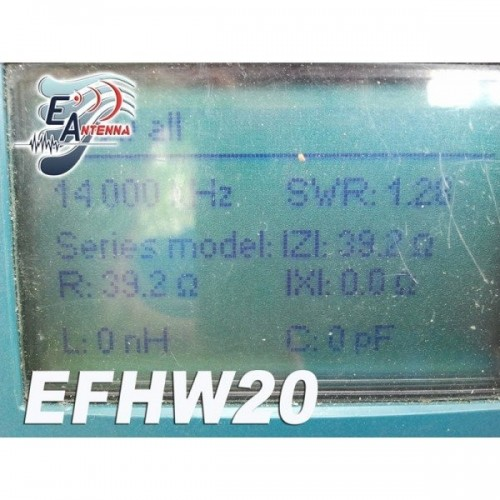 EANTENNA EFHW20 END FED DIPOLE 14 MHZ 300W