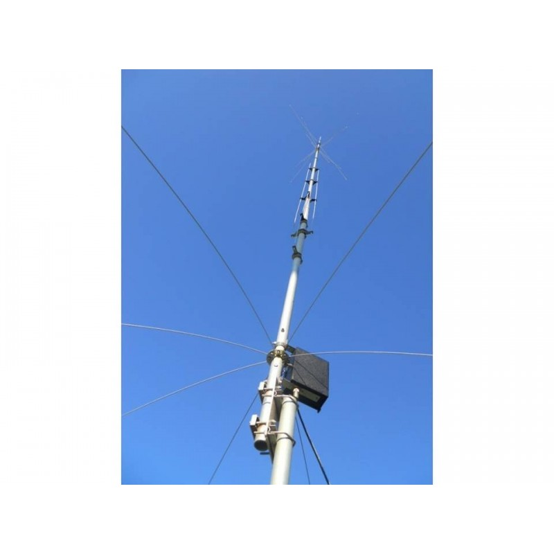 HY GAIN AV-620 ANTENNA VERTICALE 6 BANDE 6-10-12-15-17-20 M HF VERTICALI