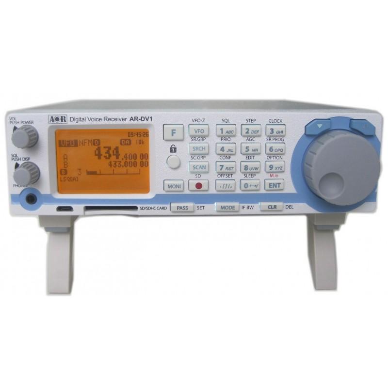 AOR AR-DV-1 RICEVITORE 100KHZ-1300MHZ PER SEGNALI VOCALI DIGITALI (INCLUSO TETRA MOBILE-MOBILE)E ANALOGICI AM-FM-CW-SSB