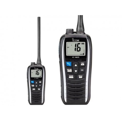ICOM IC-M25 RICETRASMETTITORE VHF NAUTICO BIANCO