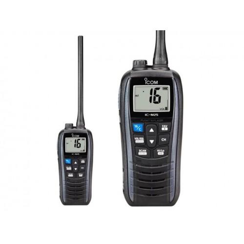 ICOM IC-M25 RICETRASMETTITORE VHF NAUTICO GRIGIO NAUTICI