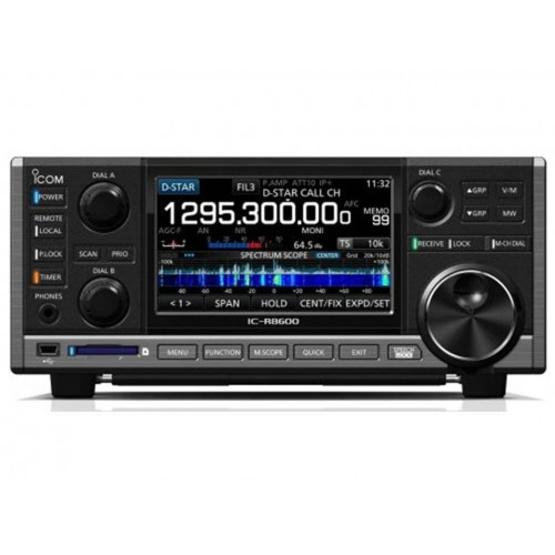 ICOM IC-R8600 RICEVITORE SDR PROFESSIONALE ANALOGICO/DIGITALE BASE