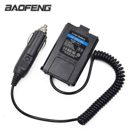 BATTERY ELIMINATOR PER BAOFENG/INTEK