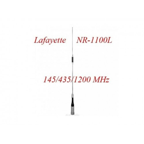LAFAYETTE NR-1100 ANTENNA VEICOLARE TRIBANDA 145 - 435 - 1200 MHz
