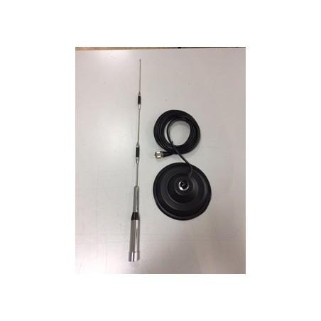 LAFAYETTE NR-1100 + HOXIN MB-1303N VHF/UHF/SHF VEICOLARI