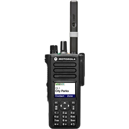 MOTOROLA DP-4801 RICETRASMETTITORE PORTATILE ANALOGICO-DIGITALE UHF CIVILI