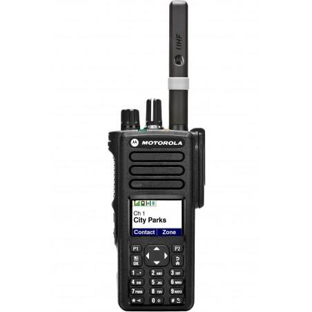 MOTOROLA DP-4801 RICETRASMETTITORE PORTATILE ANALOGICO-DIGITALE VHF CIVILI