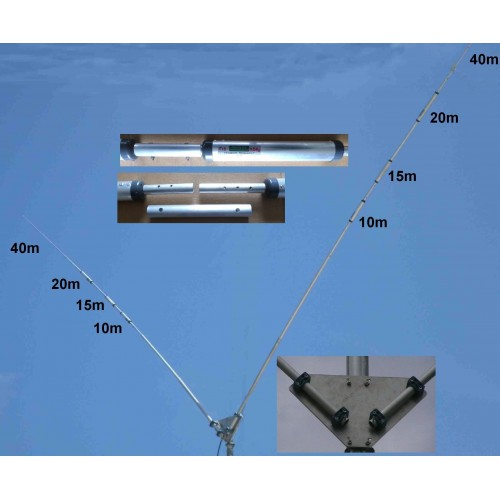 PROSISTEL PST-1524TV HF VERTICALI