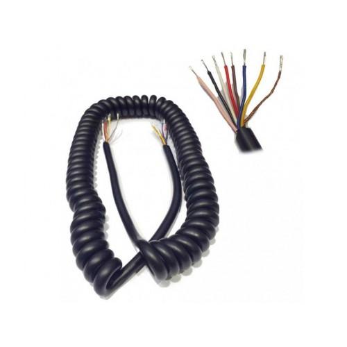 PROXEL MC8-10 Cavo microfonico spiralato 8 poli (7 + schermo)